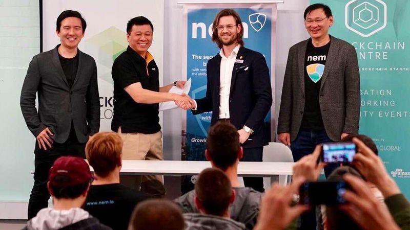 همکاری بنیاد ان ای ام (NEM) و Blockchain