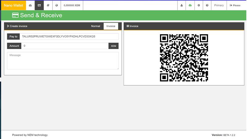 معرفی کیف پول رسمی NanoWallet برای NEM