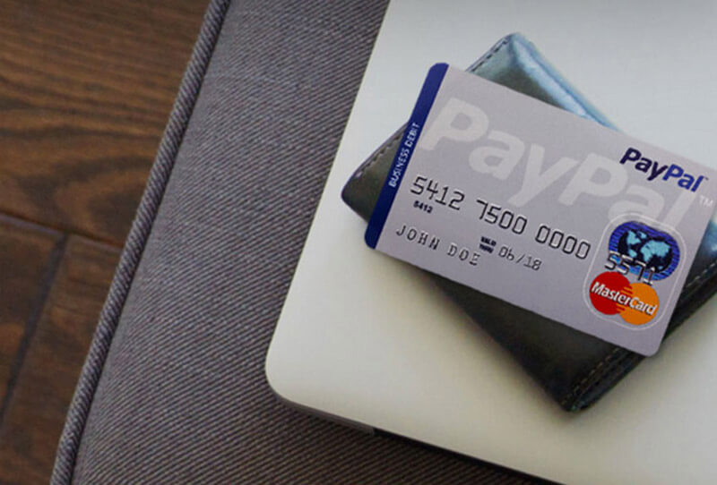 کارت PayPal