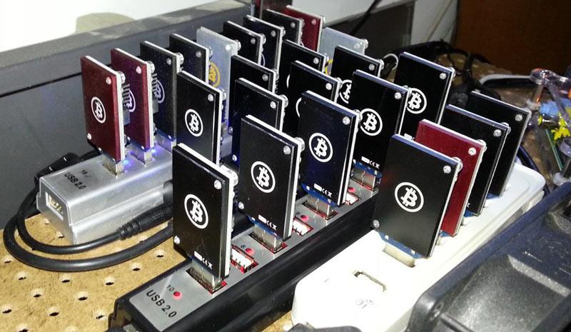 معرفی ماینر بیت کوین USB