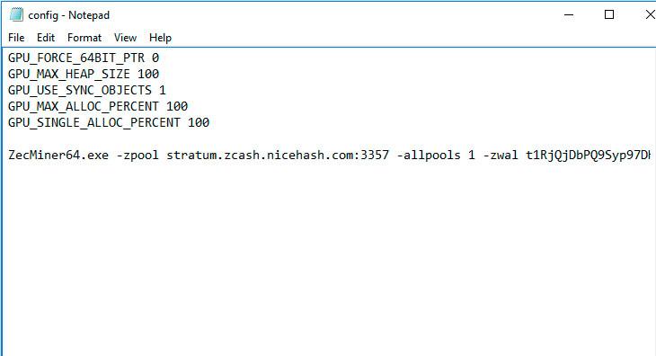 محتویات فایل Notepad