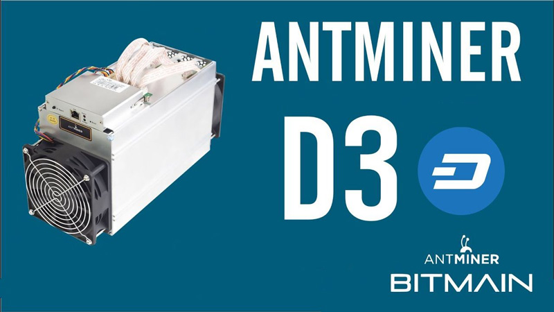 ASIC ماینر Antminer D3