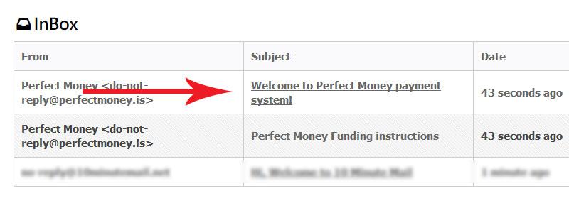 ایمیل تایید اطلاعات حساب کاربری