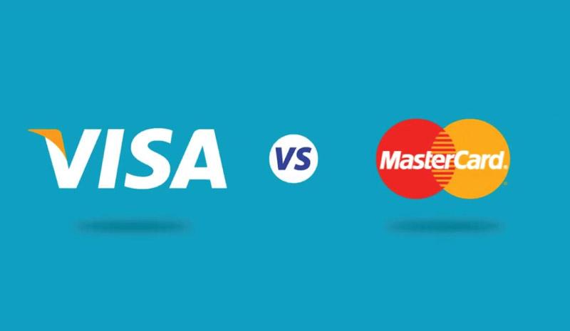 بررسی تفاوت ویزا کارت با مستر کارت