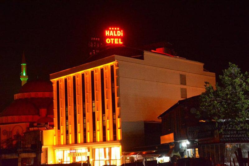 هتل هالدی در شهر وان