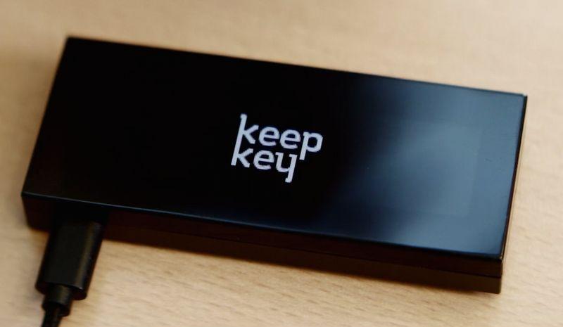 کیف پول سخت افزاری KeepKey