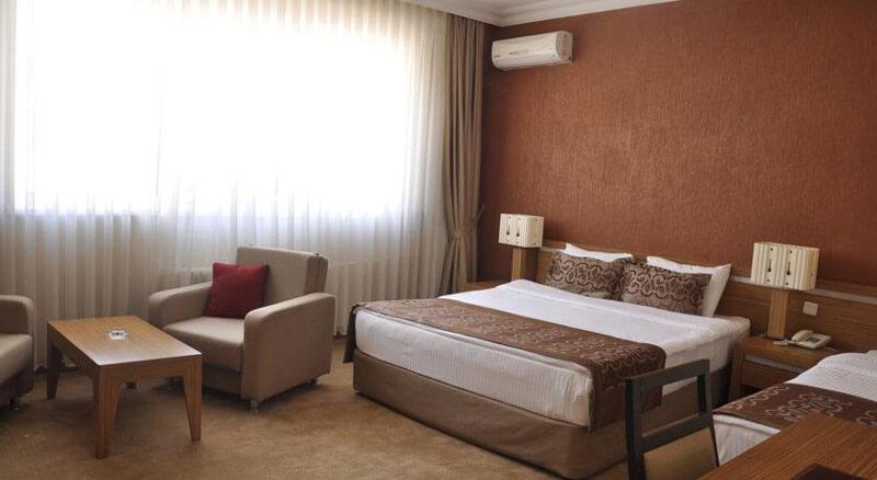 نمای از یک اتاق هتل تامارا