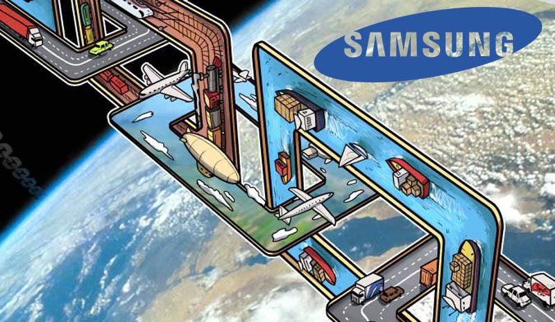 استفاده سامسونگ از فناوری بلاک چین