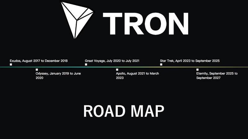 نقشه راه ترون (Tron)