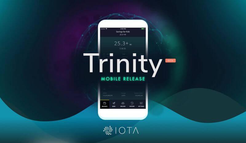 معرفی کیف پول موبایل آیوتا (Trinity)
