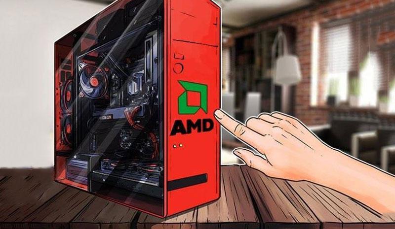 کاهش فروش کارت گرافیک های مربوط به بلاکچین AMD