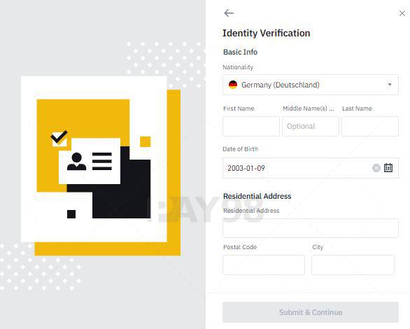 مشخصات اکانت کاربری