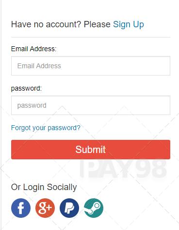 نحوه عضویت در سایت