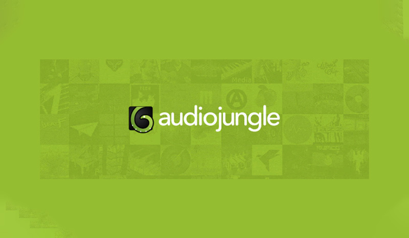 وب سایت AudioJungle