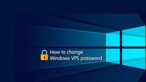 تغییر پسورد VPS