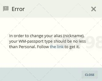 خطای تغییر نام در حساب وب مانی
