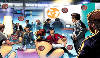 کرونای شرکت ککندگان در بیت کوین 2021 مثبت اعلام شد