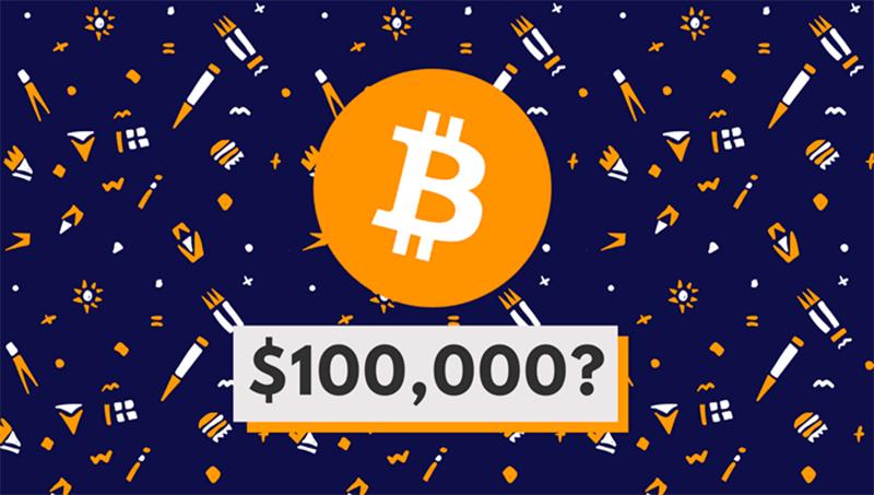 بیت کوین 100 هزار دلاری